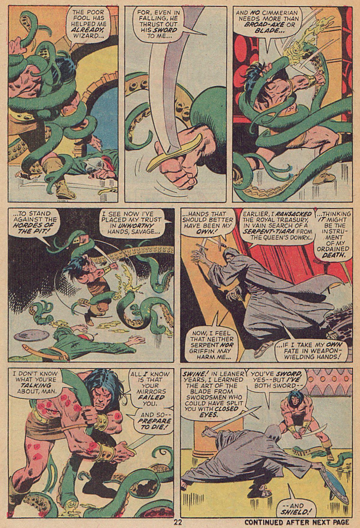 Conan the Barbarian (1970) Issue #25 #37 - English 17