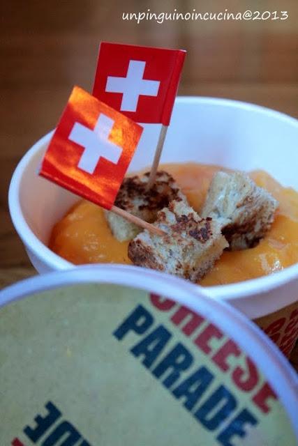 vellutata di carote e zenzero con crostini allo sbrinz in versione