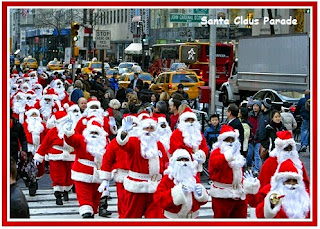 Santacon 2015 Christmas Santa Claus Parade Live Images