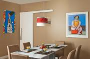 A mesa de mármore ganha vida e se transforma de acordo com o estilo das .