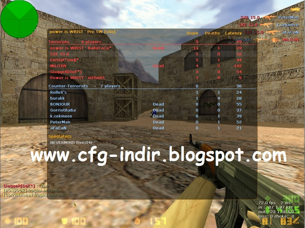 counter strike cfg indir, sxe wall hack, cs 1.6 bot paketi