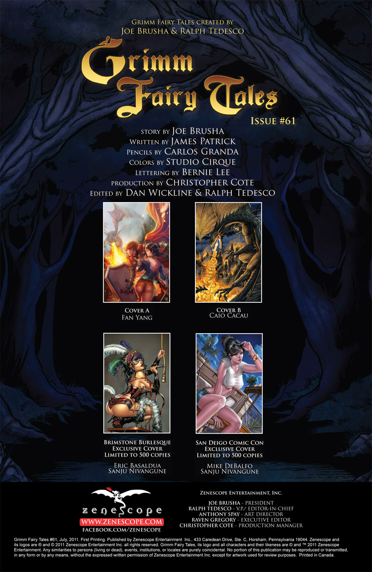 Grimm Fairy Tales (2005) Issue #61 #64 - English 2