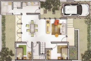 Contoh Desain Rumah Minimalis 3