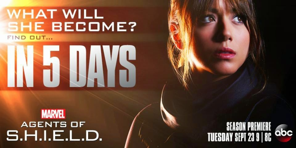 Agents of SHIELD - Season 2 - What Will Skye Become? - Poster
