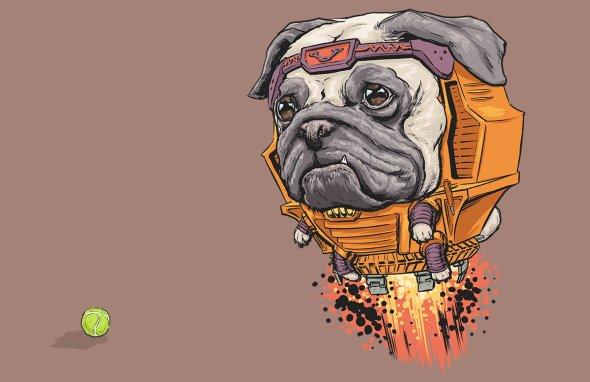 Josh Lynch ilustrações cachorros como personagens super heróis vilões Marvel - Dogs of the Marvel Universe
