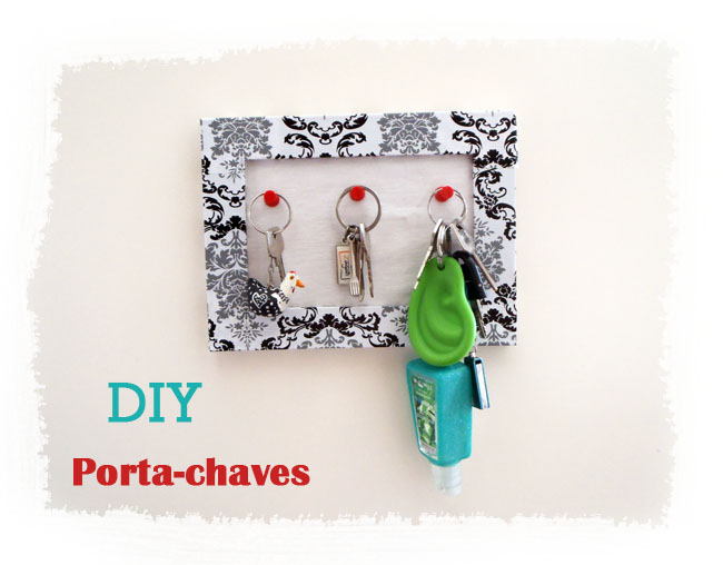tutorial diy porta chaves