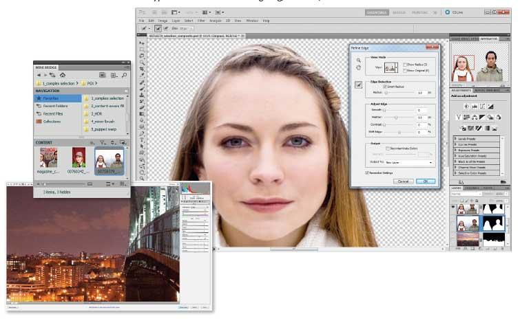 instruccion photoshop: