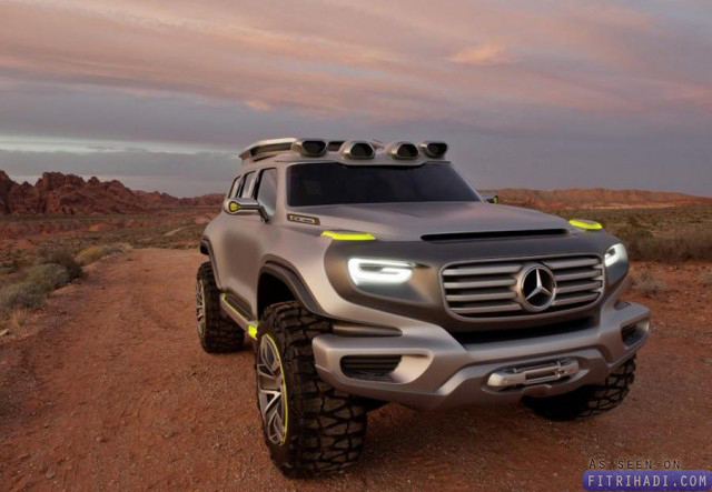 Mercedes Benz Ener-G-Force concept