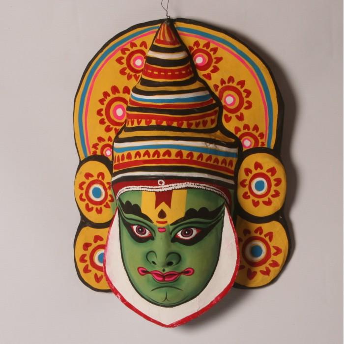 Craftsden Com Kathakali Musk Is The Famous Handicraft Of Kerala