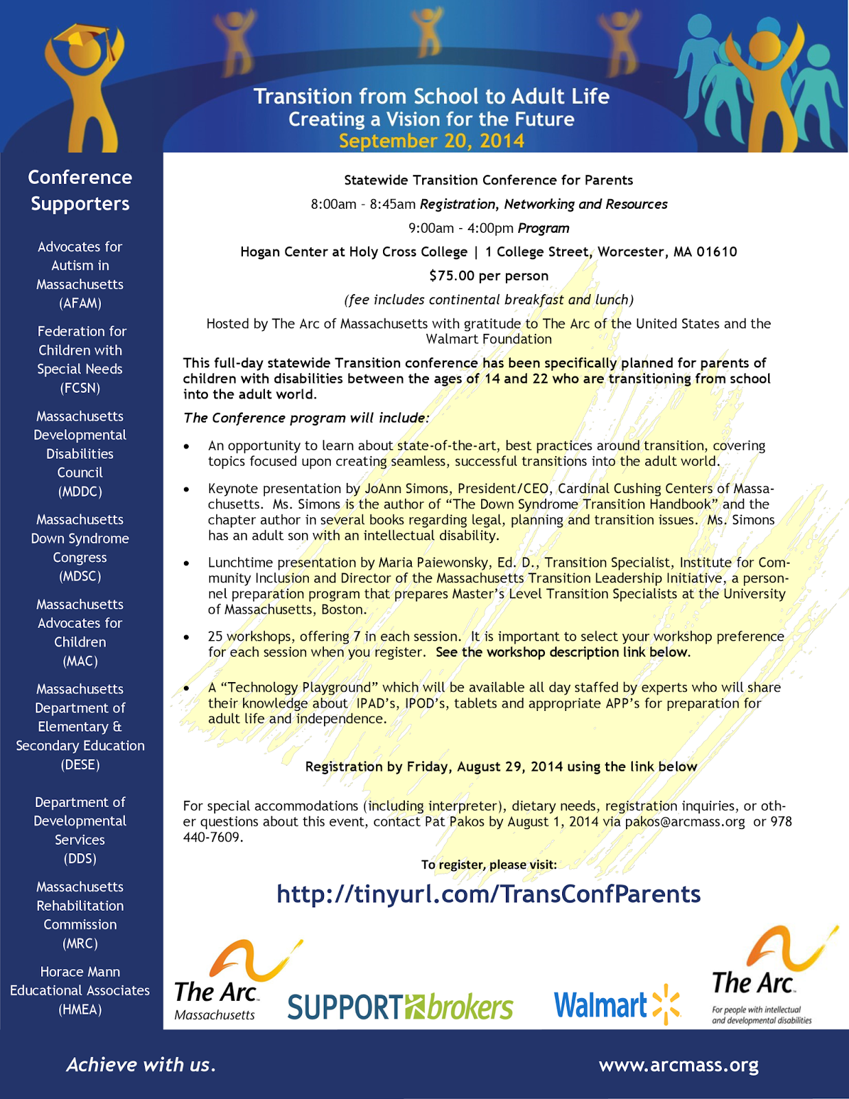 Statewide Transition Conference For >> Nesca News Notes Statewide Transition Conference For Parents