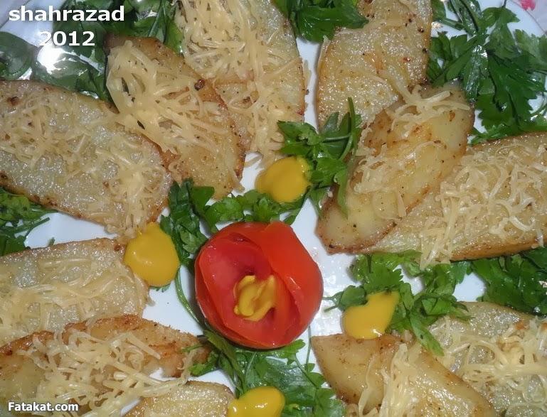 طريقة عمل البطاطس المتبلة بالصور 2014 تحمير البطاطس