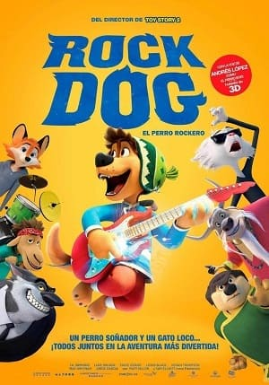 Filme Rock Dog - No Faro do Sucesso 2017 Torrent