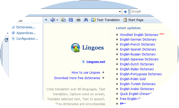 english,dictionary,free,lingoes,cambridge,esl,tefl,learner,advance,cheap