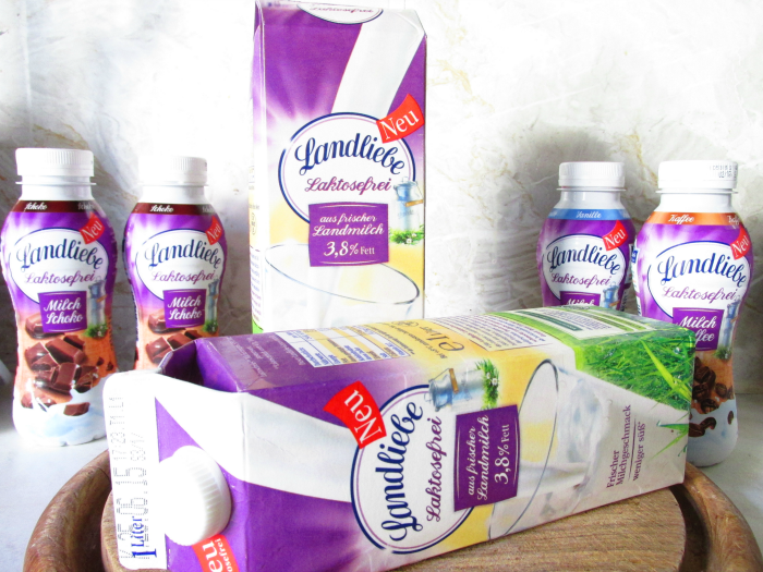 Landliebe Laktosefrei - Milch 3,8% Fett aus frischer Landmilch