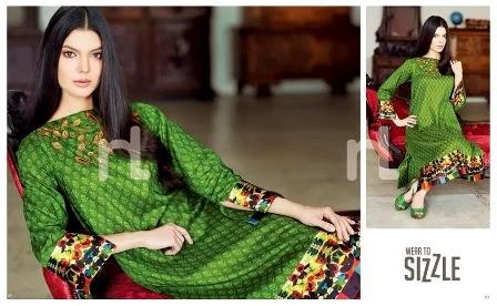Nishat Linen Pret Lawn Dresses 2014-2015