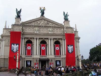 Elementos grandiosos de la arquitectura nazi