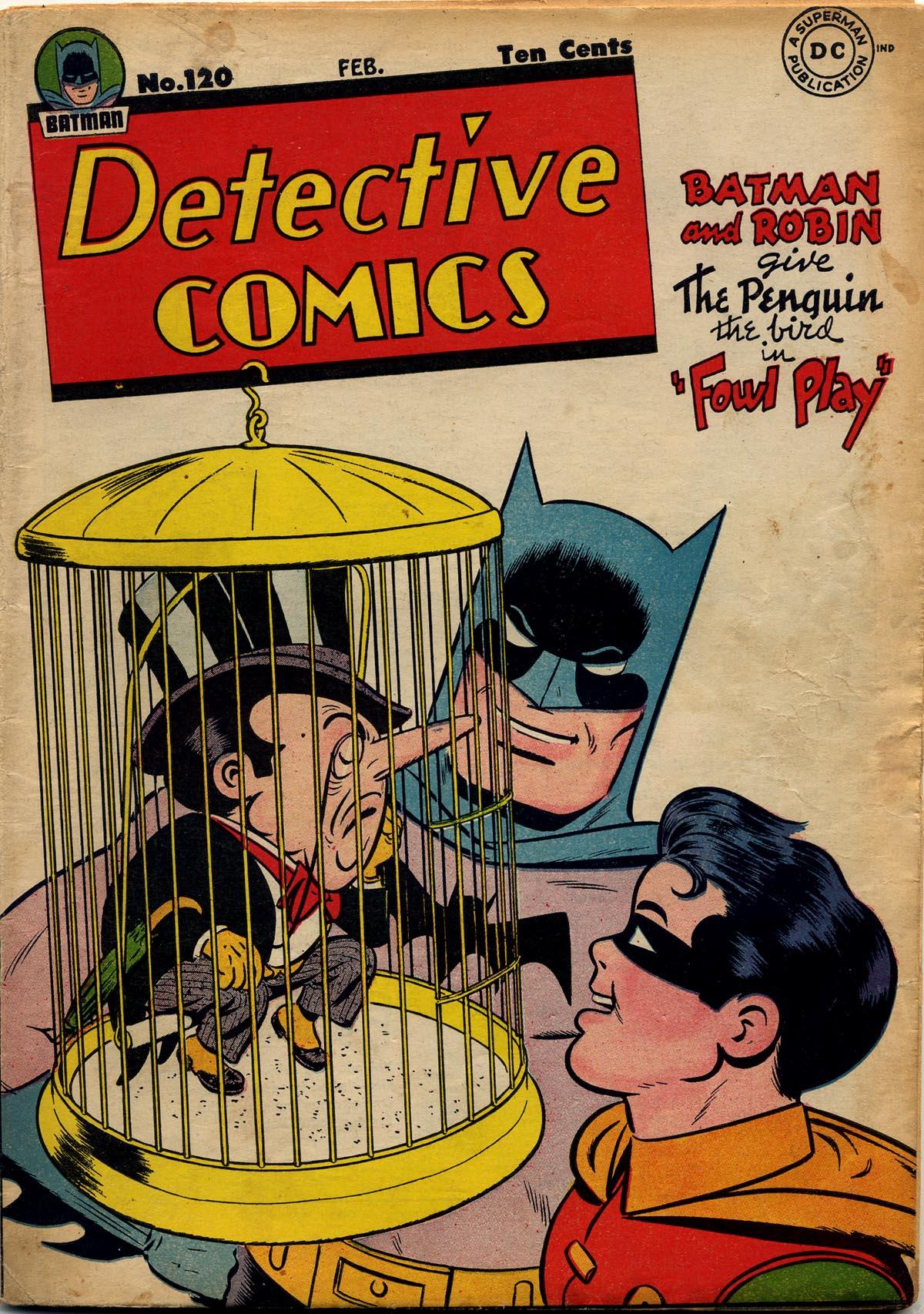 Detective Comics (1937) 120 Page 1