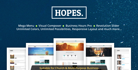 Hopes WordPress Theme