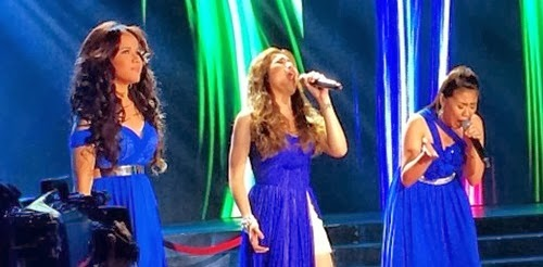 Angeline Quinto, Klarisse de Guzman, Morissette Amon Beyonce Showdown on ASAP 19 [courtesy of @ASAPOfficial]