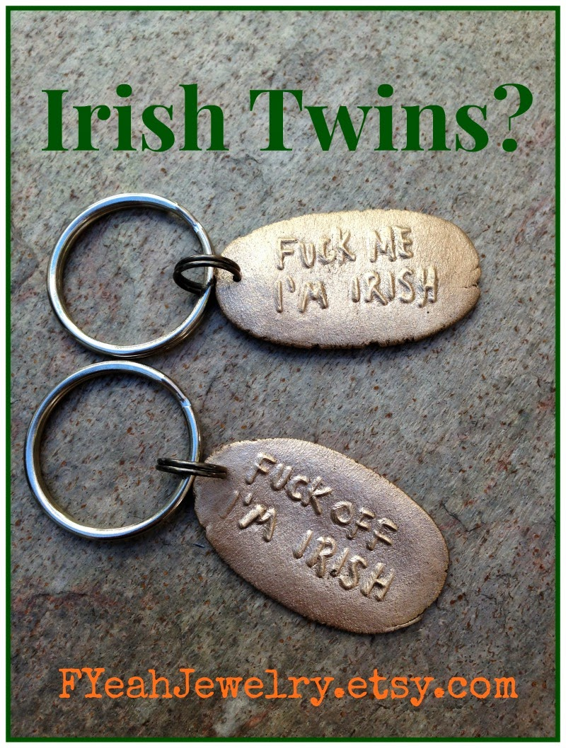 fuck irish gifts fucking irish key chains