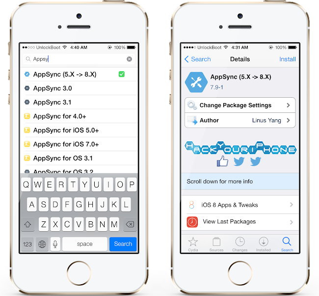 Download Appsync iOS 8