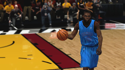 NBA 2K13 Reggie Jackson OKC Playoffs Update