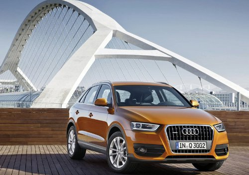 1 of 5 - 2012 Audi Q3 Front Pictures