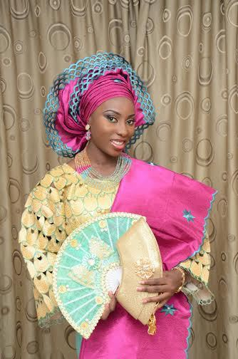 The Asoeke Wear Which Is Traditional Attire Of Yoruba Tribe In Nigeria With Its Beautiful Design And Different Colors