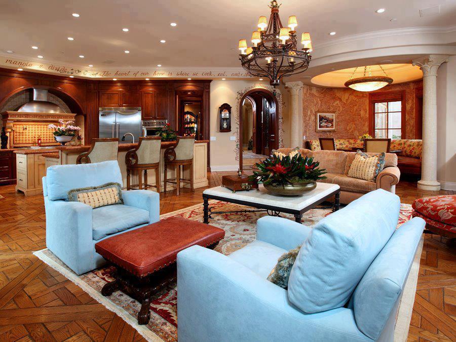 4 conceptions modernes de salon int rieur d cor. Black Bedroom Furniture Sets. Home Design Ideas