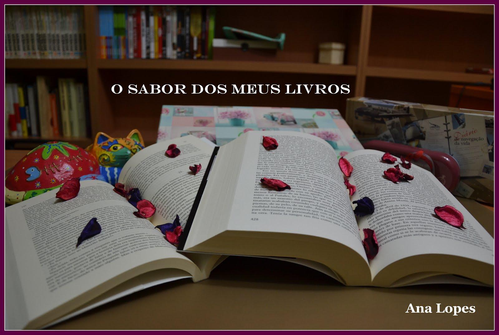 YOUTUBE | O SABOR DOS MEUS LIVROS