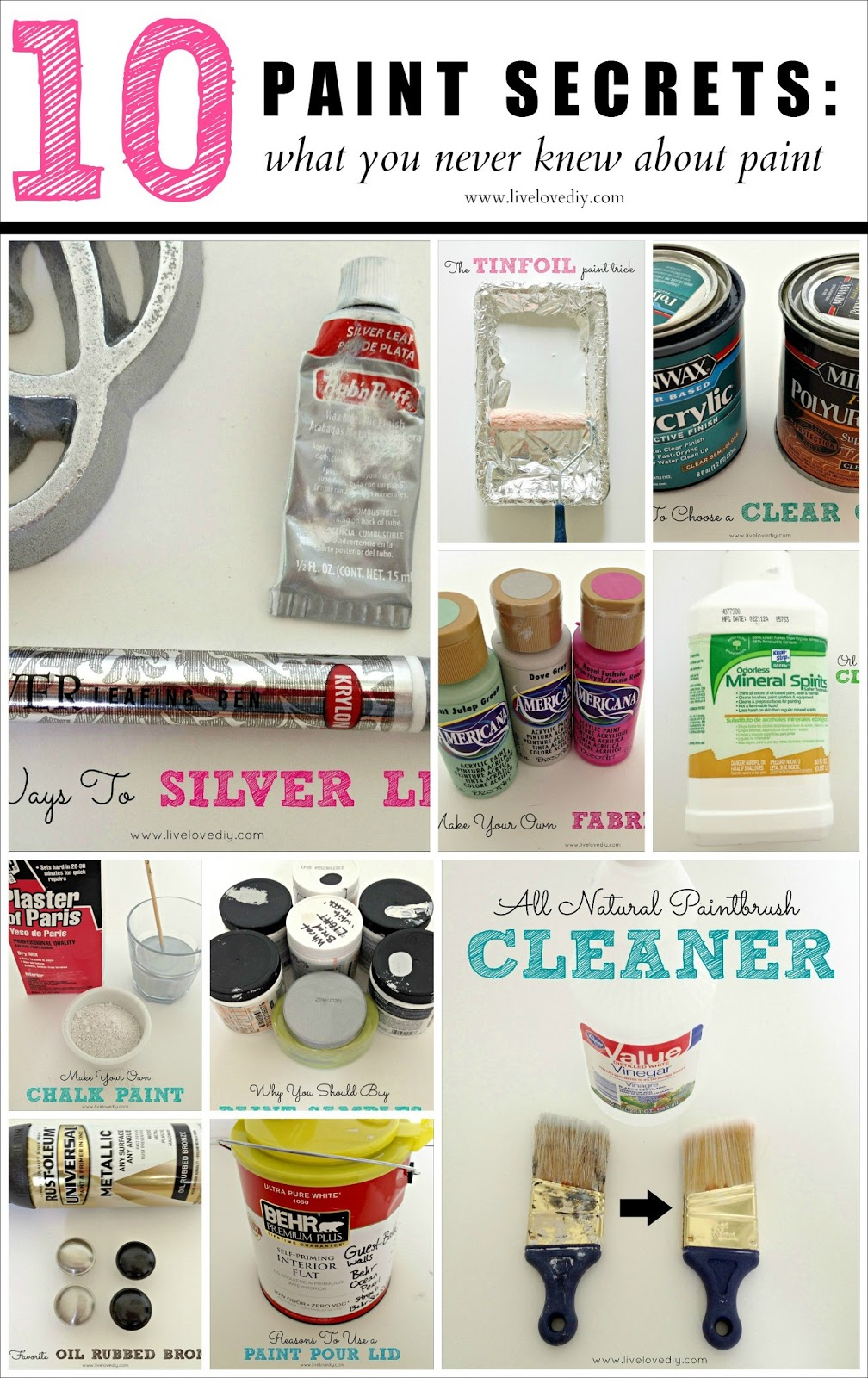10 Painting Tips   Tricks You Never Knew. LiveLoveDIY  10 Painting Tips   Tricks You Never Knew