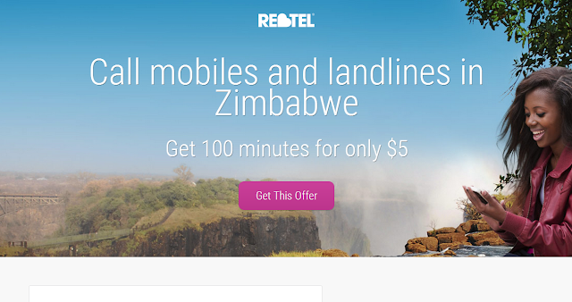 Unlimited cheap phone calls to Nigeria, Zimbabwe (Rhodesia), Ghana, Kenya, Tanzania mobiles & landlines