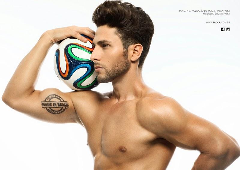 Bruno Faria nudo