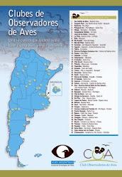 Mapa  de los COAs