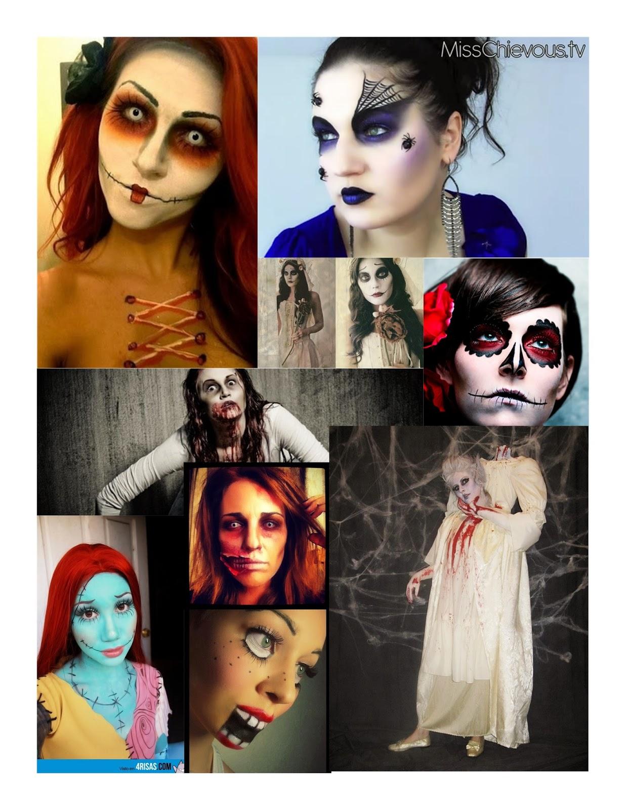 inspiracion disfraz maquillaje helloween makeup