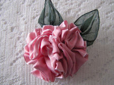 Wire Ribbon Rose