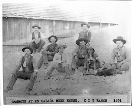 Cowboys at the XIT Ranch, circa 1891