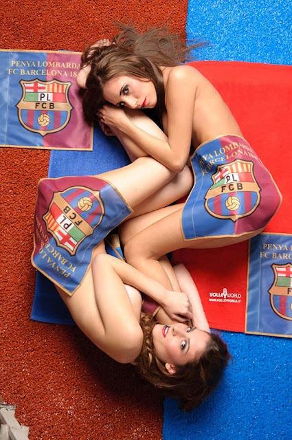 Model Kalender Seksi Barcelona 2013