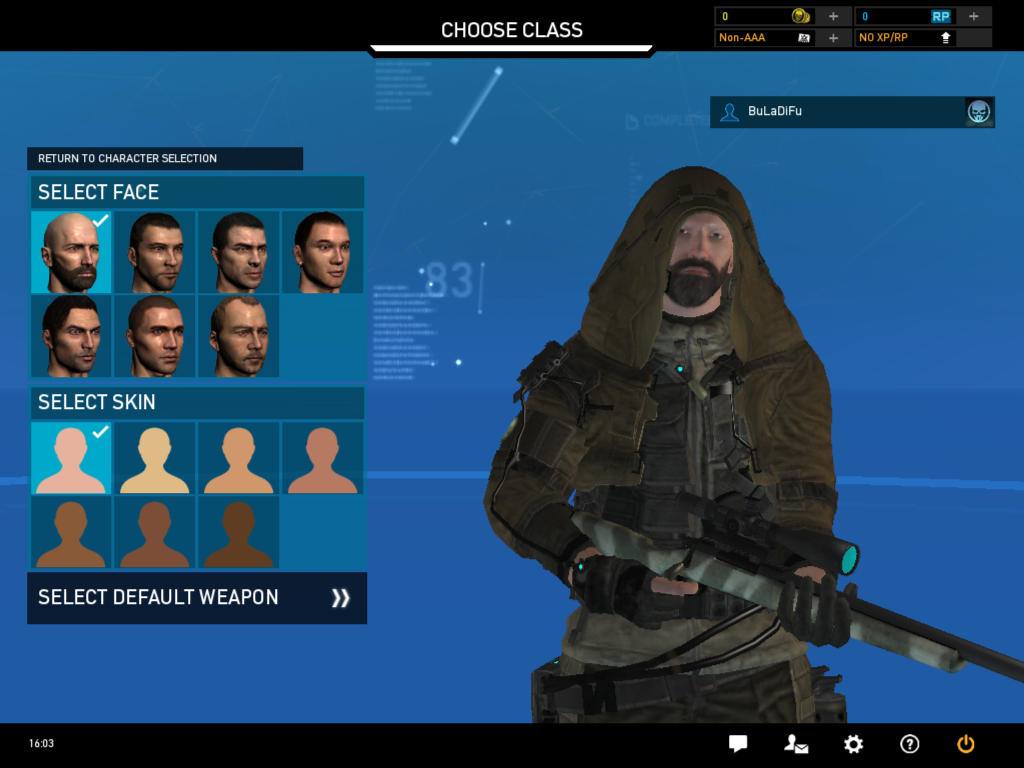 are linked to your account and not your character class: buladifu.blogspot.com/2014/01/ghost-recon-online-part-two.html