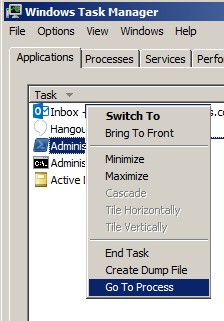 Kill a process that won't die when you use End Task in Task Manager