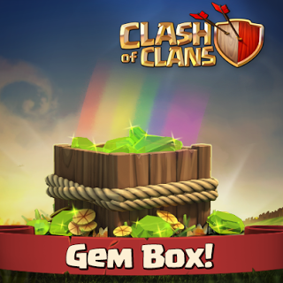 Cara Mendapatkan GemsBox  Clash of Clans  Dengan Cepat