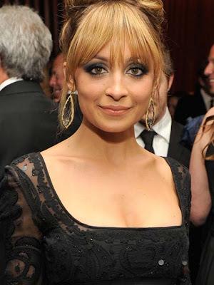 Nicole Richie Dangling Diamond Earrings