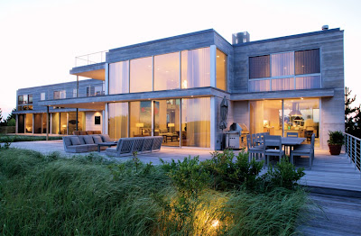 Luxury beach home, Southampton, New York, USA