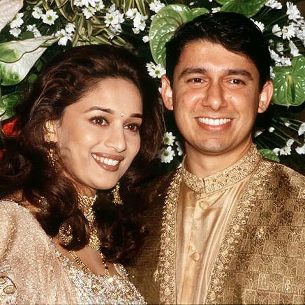 Madhuri Dixit Wedding Pics