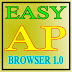 """මෙන්න මගේ පළමු මුදුකාංගය  """"EASY AP BROWSER 1.0"""""""