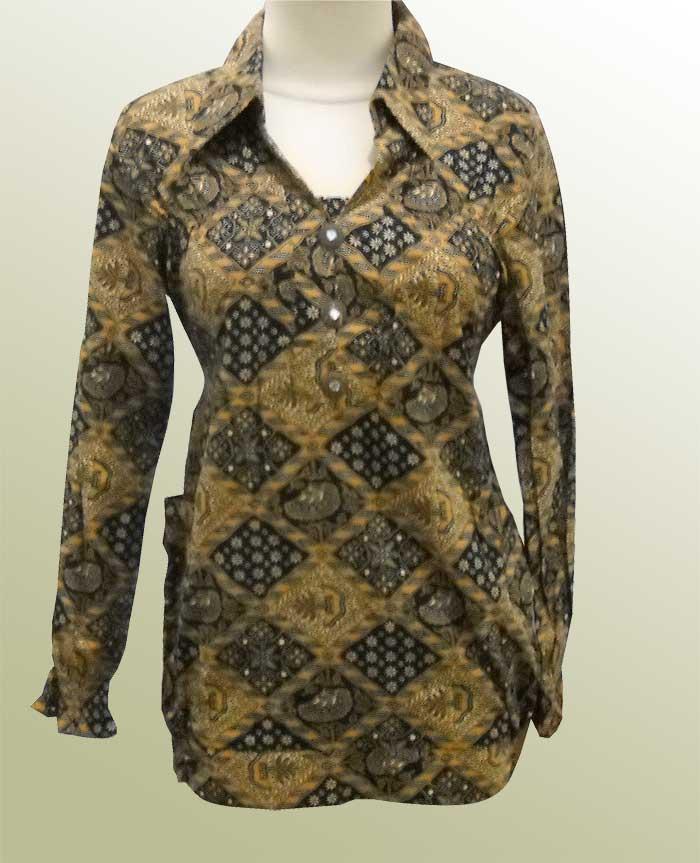 Model Baju Batik Modern Holidays Oo