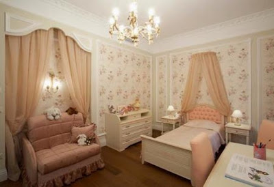 Ideas de decoraci n de dormitorios de ni os cl sicos y for Decoracion dormitorios clasicos