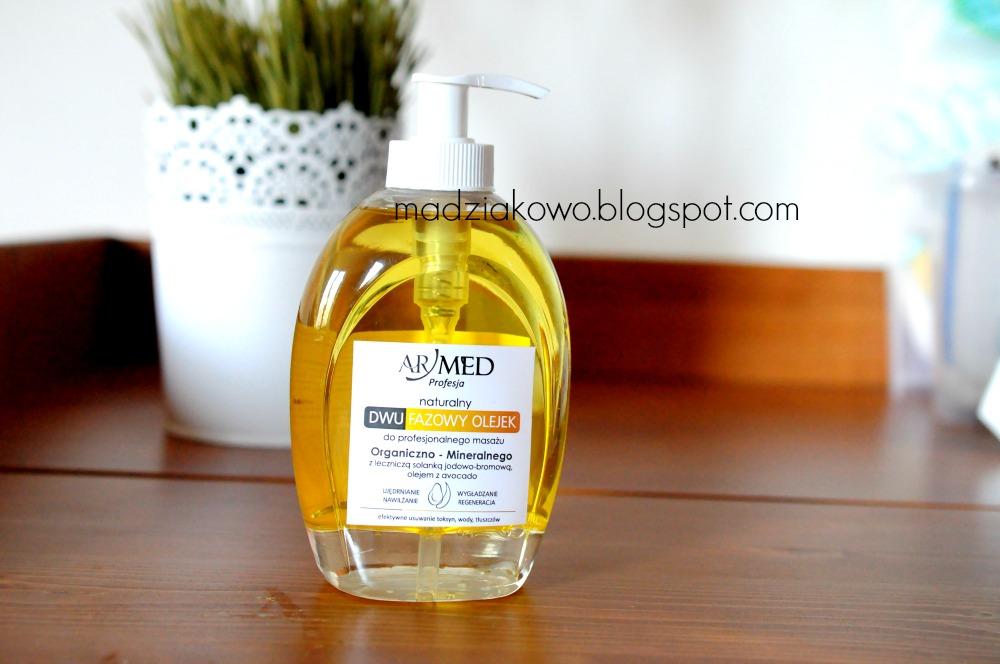 4b68a776ccfa Dwufazowy olejek do masażu ujędrniającego oferowany jest w opakowaniu 320 ml