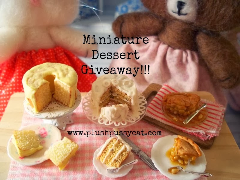 Delicious Giveaway at Plushpussycat