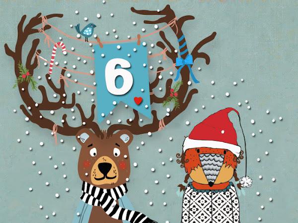 Lila-Lotta Adventskalender 2014 - Türchen Nr. 6 und der Nikolaus war auch da !